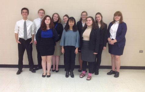 Speech Team Prepares for State Series