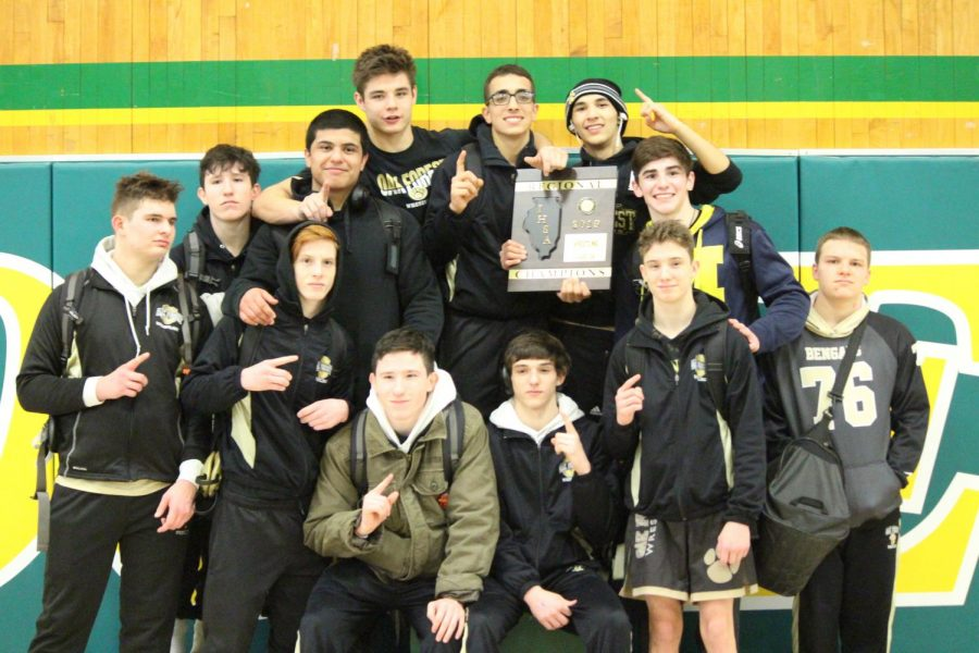 Wrestling Heads to State