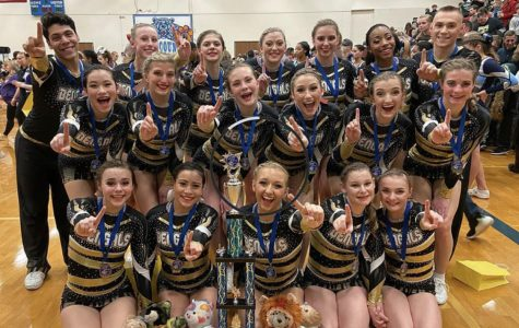 Cheer Wins Conference, Continues Pursuit of State Dreams